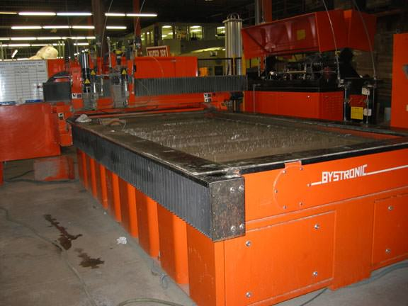 BYSTRONIC Byjet 3015 5' x 10' CNC Dual Head Water Jet Cutting System-14410a