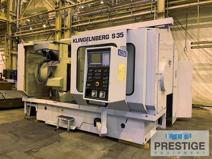 Klingelnberg 10-Axis CNC Gear Cutting Machine-16326a