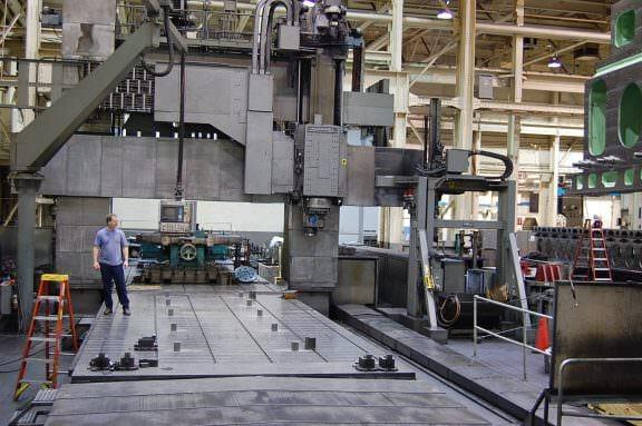 Ingersoll-Double-Column-5-Axis-CNC-Bridge-Mill