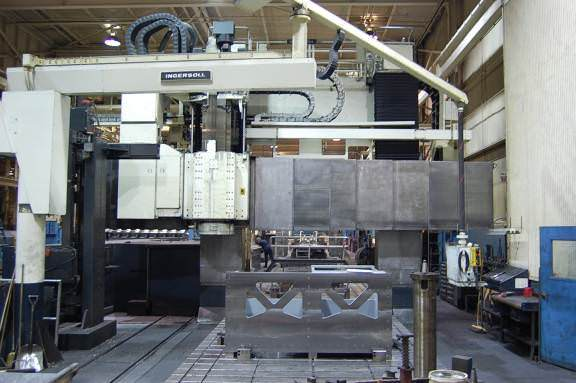 Ingersoll-Double-Column-5-Axis-CNC-Planer-Mill