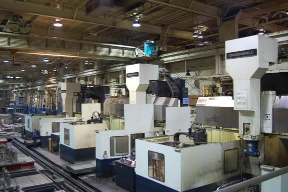 Ingersoll Master Center 5-Face CNC Machining Center (3-Machines)