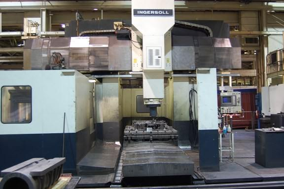 Ingersoll Master Center 5-Face CNC Machining Center (3-Machines)-16720b