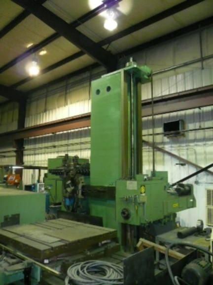 Giddings-&-Lewis-PC-50-5-CNC-Table-Type-Horizontal-Boring-Mill