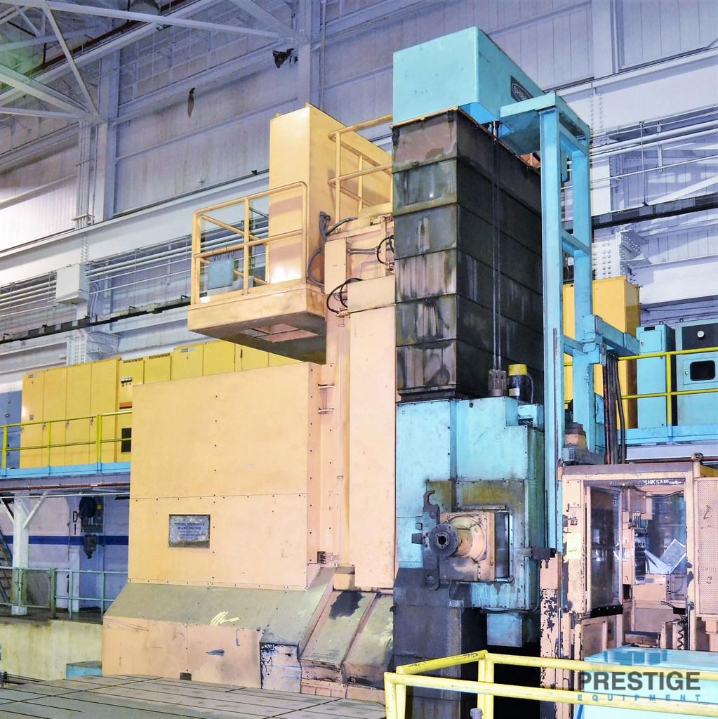 Toshiba BFD-200 5-Axis 200 MM  CNC Floor Type Horizontal Boring Mill-21251a
