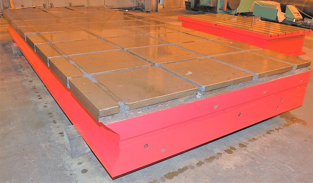 T-Slotted-Floor-Plates-(2)-90-x-215-Cast-Iron-Construction