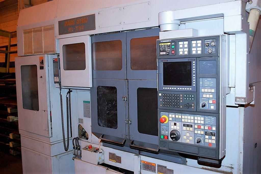 Mori Seiki RL-203 Dual Spindle CNC Turning Center W/Gantry