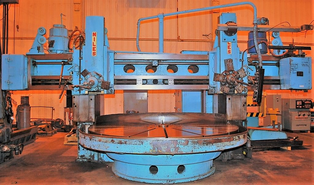 Niles-F120T-120-Vertical-Boring-Mill