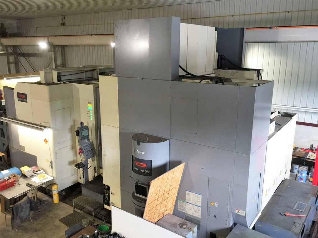 MAZAK Integrex E-1850 V12 5-Axis CNC Vertical and Horizontal Turning Center