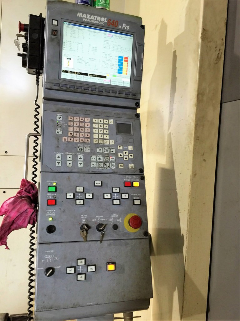 MAZAK Integrex E-1850 V12 5-Axis CNC Vertical and Horizontal Turning Center-22981g