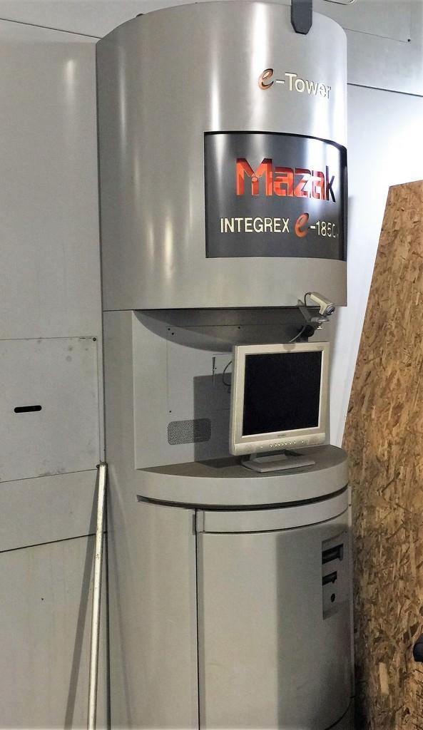 MAZAK Integrex E-1850 V12 5-Axis CNC Vertical and Horizontal Turning Center-22981h