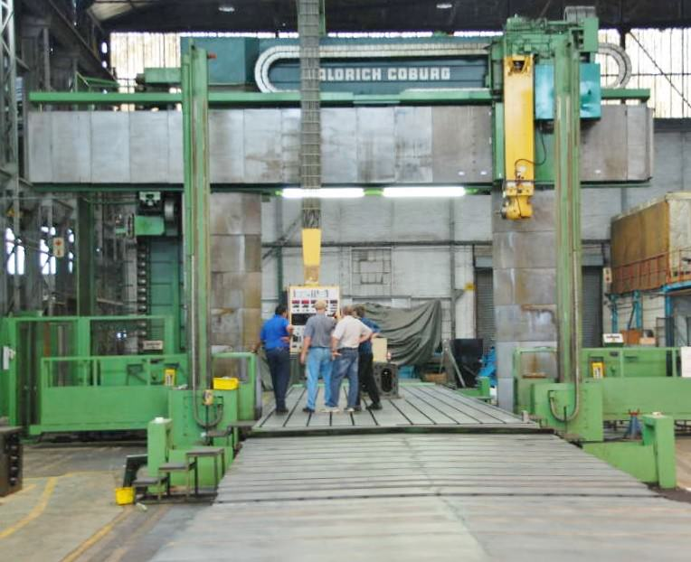 Waldrich Siegen FP 400C CNC Planer Mill-23166a