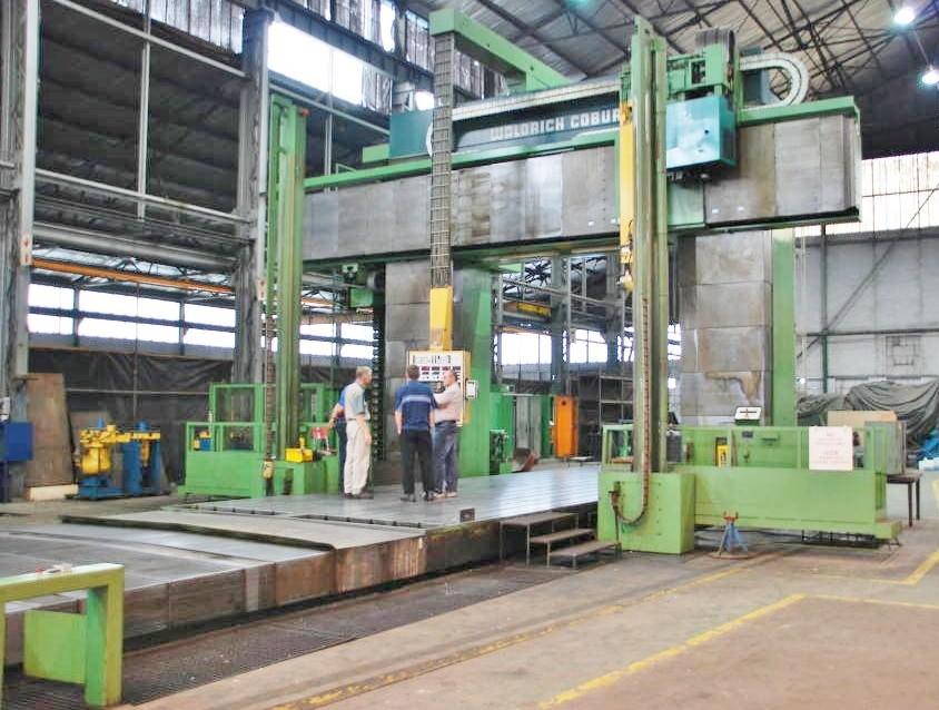 Waldrich Siegen FP 400C CNC Planer Mill-23166b