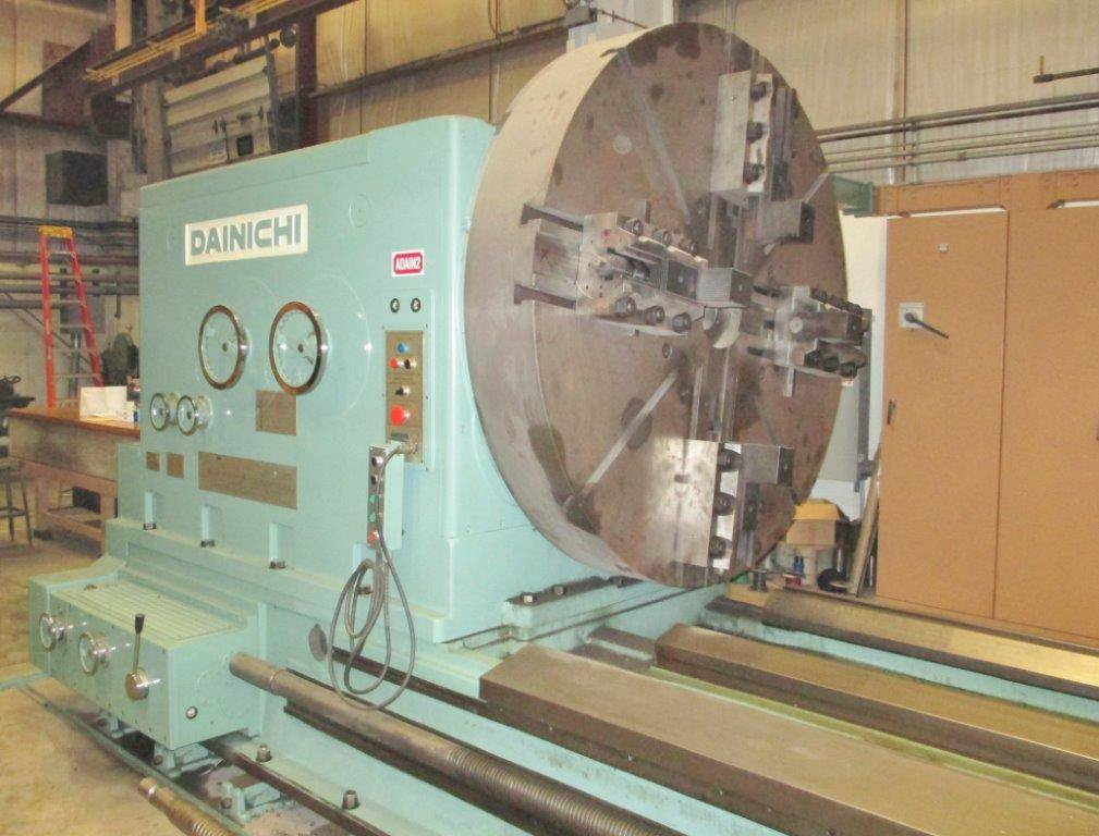 Dainichi-WW-III-200-82-x-590-Manual-Lathe