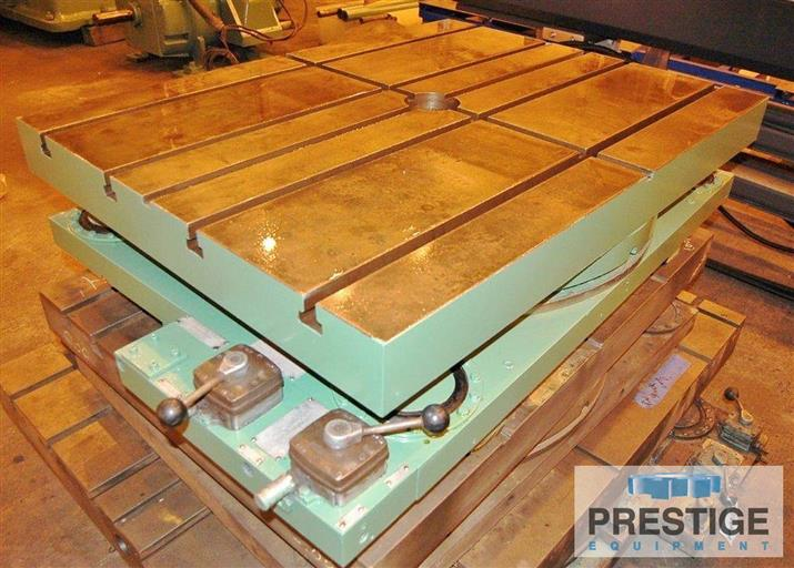 36-x-48-Giddings-&-Lewis-Airlift-Rotary-Table