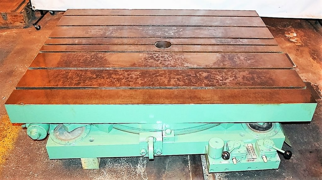 Giddings-&-Lewis-48-x-60-Hydrostatic-Index-Table