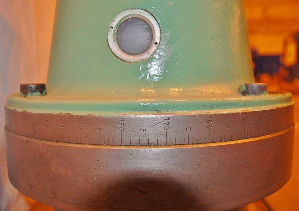 Right Angle Milling Attachment for 40 Taper Boring Mill  -23425e