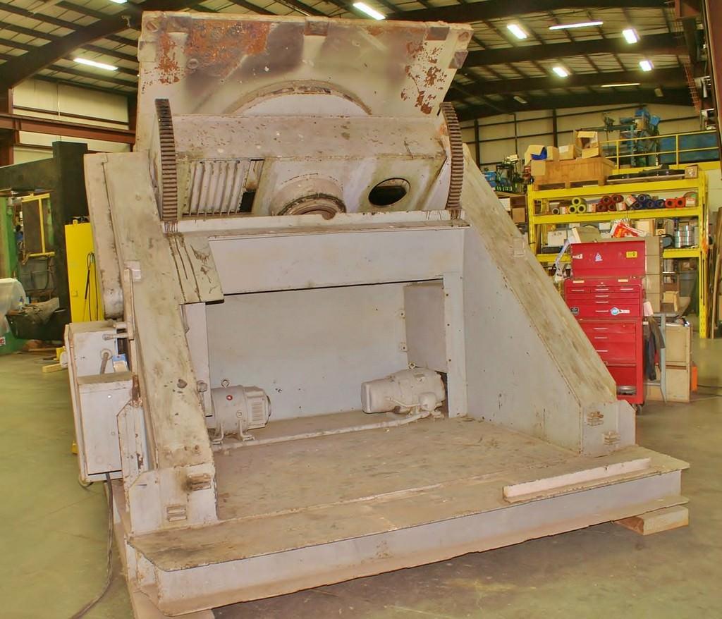 ARONSON G-500 Gear Drive 50,000 lb. Welding Positioner-23612b