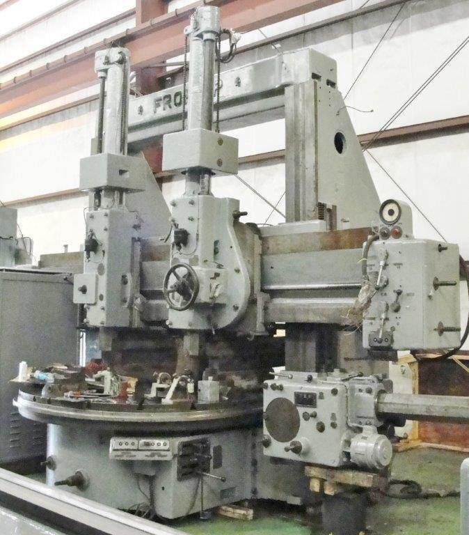 Froriep-10-KZ-230-92-Vertical-Boring-Mill