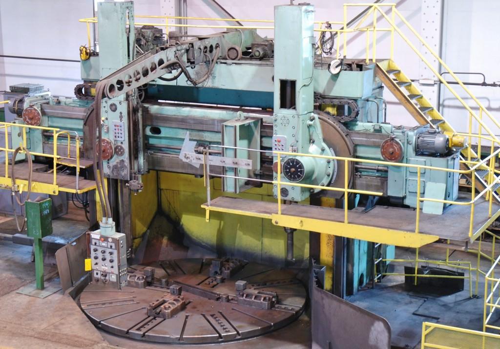Stanko-1540-157-Vertical-Boring-Mill