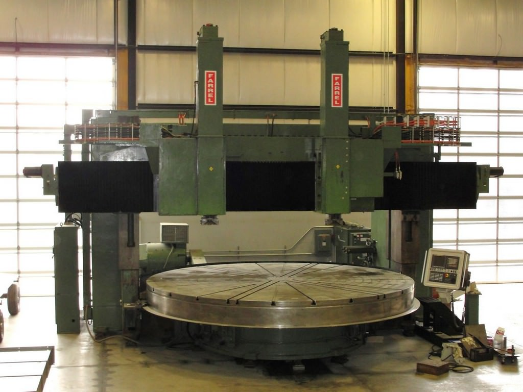 Farrel-Fixed-Rail-192-CNC-Vertical-Boring-Mill-With-Live-Spindle