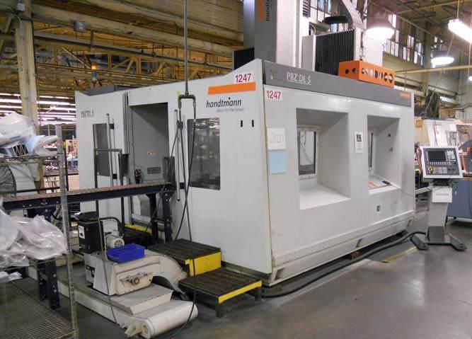 Handtmann-PBZ-DL5-5-Axis-CNC-Profile-Machining-Center