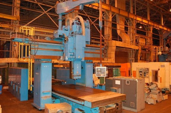 WALDRICH-SIEGEN-Model-V-H-5-Face-CNC-Planer-Mill