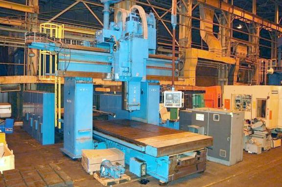WALDRICH SIEGEN Model V/H 5-Face CNC Planer Mill-24634a