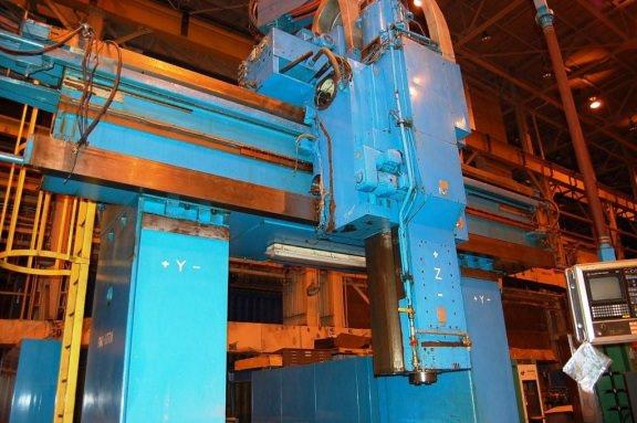 WALDRICH SIEGEN Model V/H 5-Face CNC Planer Mill-24634f