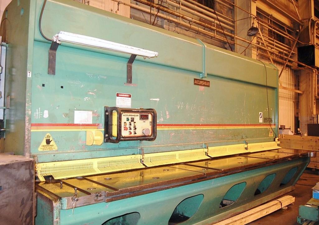 Accurshear-850016-1-2-x-16-Hydraulic-Plate-Shear