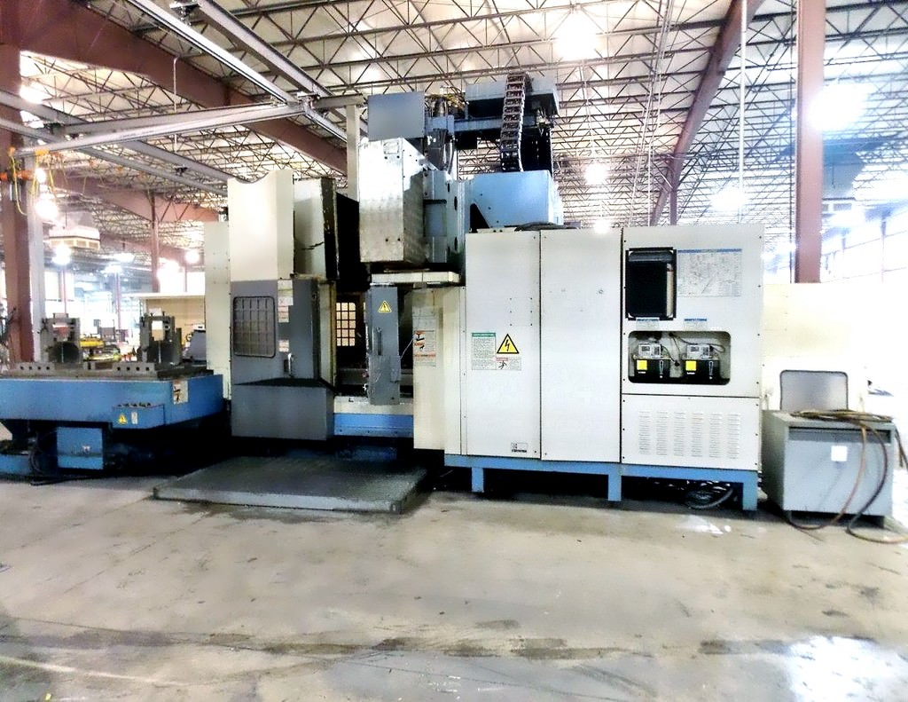 MAZAK Versatech V40 CNC 5-Face Double Column Vertical Machining Center-25057a