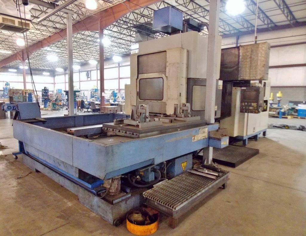 MAZAK-Versatech-V40-CNC-5-Face-Double-Column-Vertical-Machining-Center