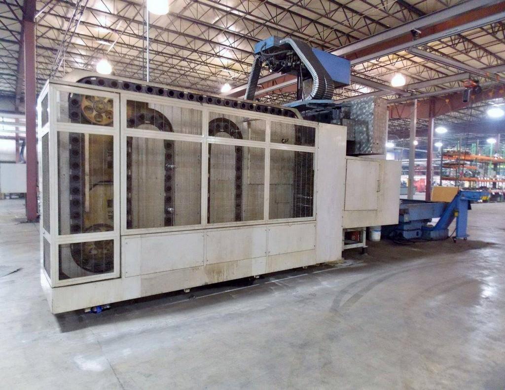 MAZAK Versatech V40 CNC 5-Face Double Column Vertical Machining Center-25058c