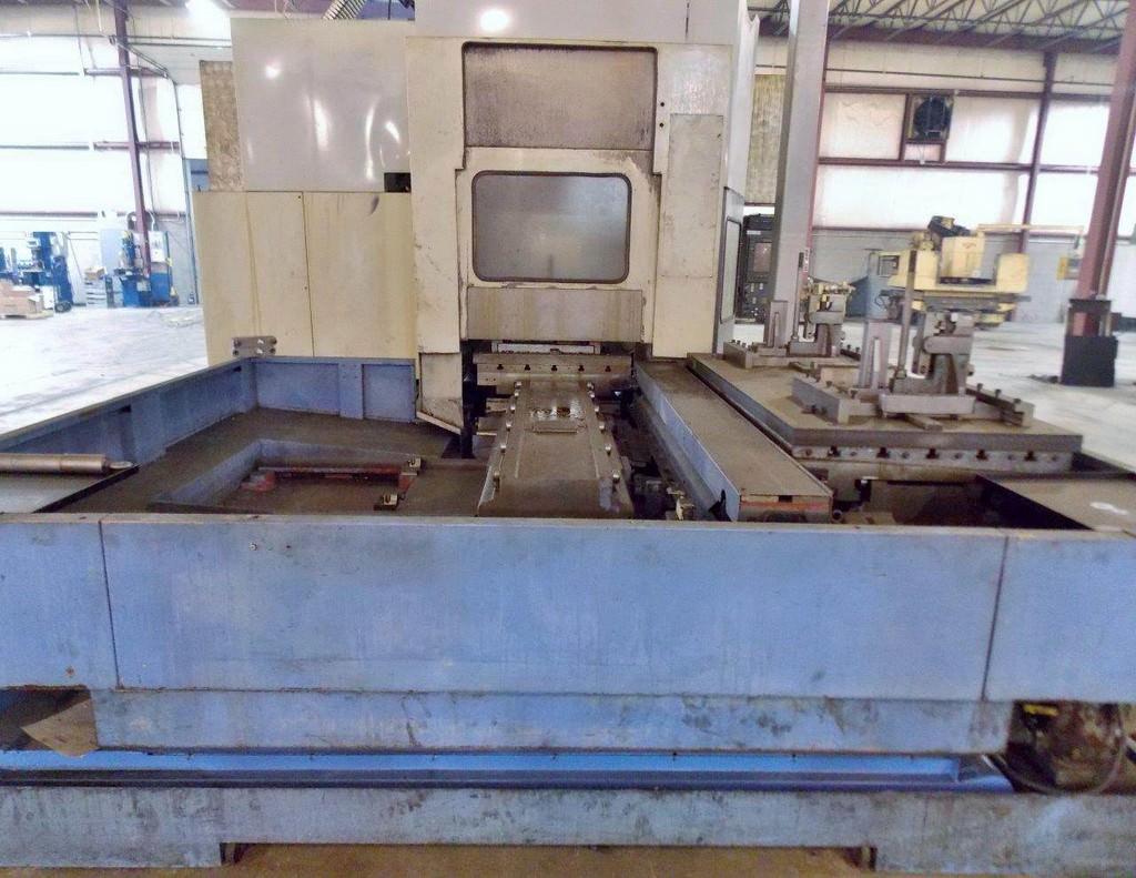 MAZAK Versatech V40 CNC 5-Face Double Column Vertical Machining Center-25058e