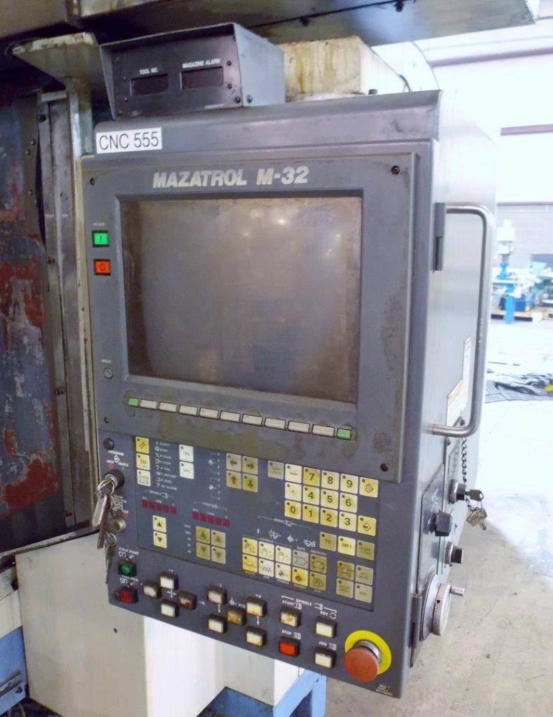 MAZAK Versatech V40 CNC 5-Face Double Column Vertical Machining Center-25058f