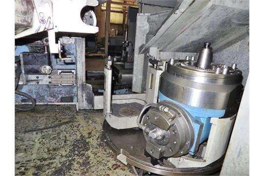 MAZAK Versatech V40 CNC 5-Face Double Column Vertical Machining Center-25058h