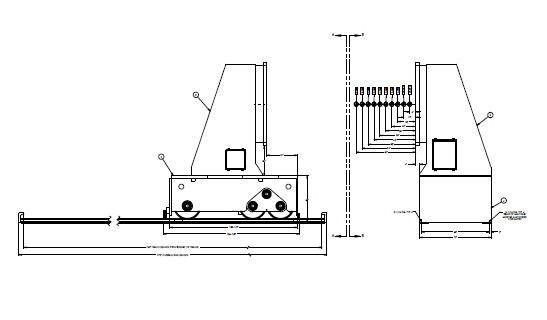 Koike-Aronson-HTS240VF-Head-Stock-Tail-Stock-240000-lb.-Welding-Positioner