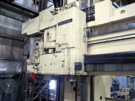 100 HP Ingersoll Planer Mill Head