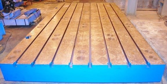 T-Slotted-Floor-Plates-(1)-86-x-157-Floor-Plate-Brand-New-Cast-Iron