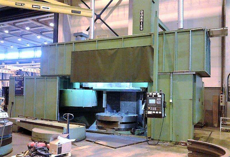 Dorries-VCE-180-80-CNC-Vertical-Boring-Mill-W-Milling-&-Pallet-Shuttle