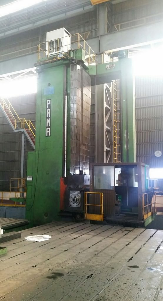 PAMA-SpeedRam-8-CNC-Floor-Type-Horizontal-Boring-Mill
