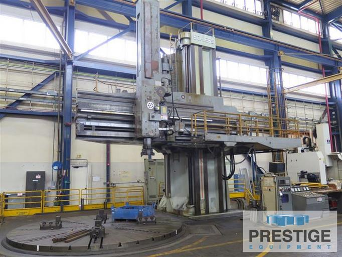 Schiess-3VKE-500-900-197-355-CNC-Openside-Vertical-Boring-Mill