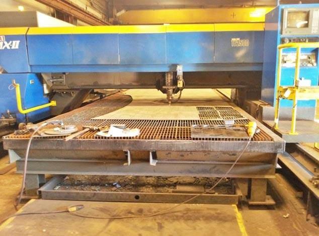 Tanaka-LMX-II-TF2500-2500-Watt-CNC-Laser-Cutting-System