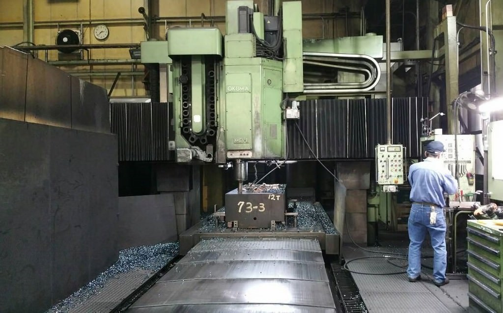 Okuma-MCV-B-CNC-Double-Column-Vertical-Machining-Center