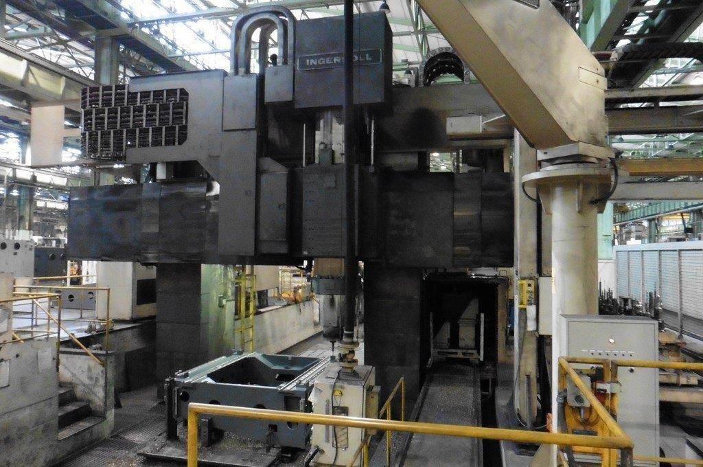 Ingersoll Masterhead 3.5 5-Axis CNC Planer Mill