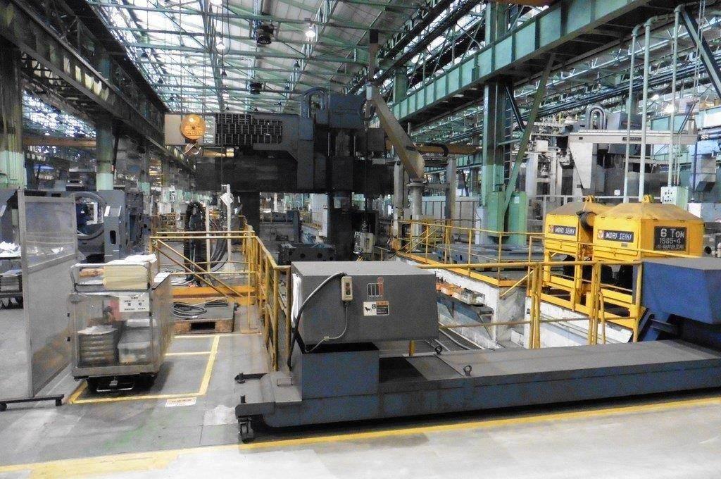 Ingersoll Masterhead 3.5 5-Axis CNC Planer Mill-25688a