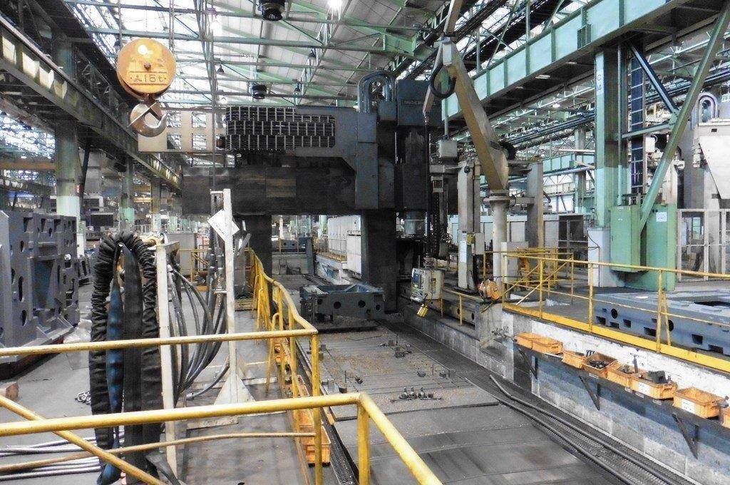 Ingersoll Masterhead 3.5 5-Axis CNC Planer Mill-25688b
