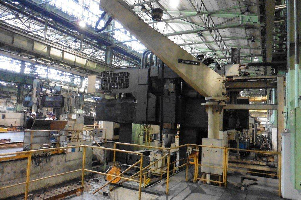 Ingersoll Masterhead 3.5 5-Axis CNC Planer Mill-25688f