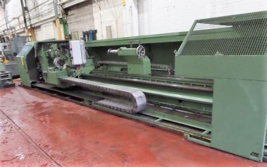 Binns-&-Berry-Model-Data-90-1000-CNC-41.33-x-295.27-Hollow-Spindle-Lathe