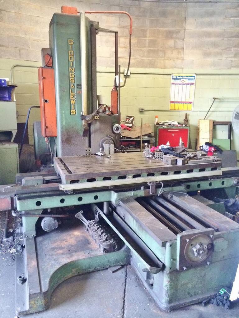 Giddings-&-Lewis-340T-4-Table-Type-Horizontal-Boring-Mill