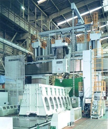 SNK HF-10M CNC Bridge Type Milling Machine